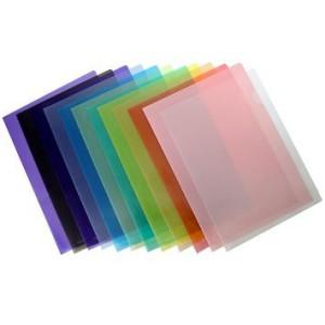 E355 Plastic Folder F4 12pcs Pack Shing Lee Stationers